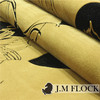 Professional factory cheap price flock fabric for curtain/sofa/household decorative
