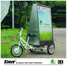 Outdoor Electric Advertising Trike in France