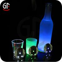 Wedding Favor 2015 Led Color Plastic Cup Coasters
