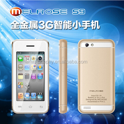 2.5 inch android mobile phone S9, Melrose S9 Rugged Mobile Phone, Latest 2.4 inch G3 mini android phone S9 with android 4.4