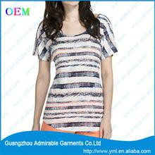 popular custom t shirt for women lower price
