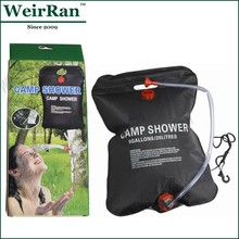 (74645) 5 Gallons Solar Heating 20L Camping Shower Bag
