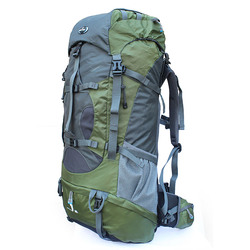 Waterproff outdoor backpack 80l mountaineering bag large capacity double-shoulder travel outdoor bag