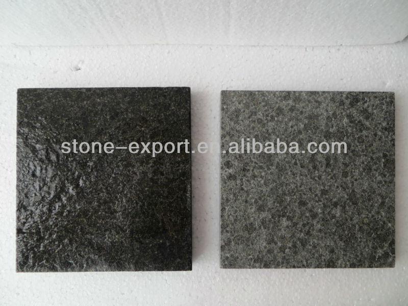 Newstar negro absoluto granito flameado granito for Precio granito negro