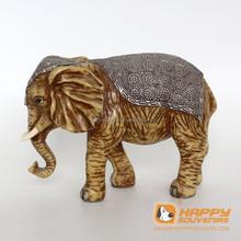16CM high polyresin Thailand elephant statue for club decoration