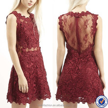 china new innovative product ladies dresses 2015 ever pretty dress with embellished lace