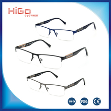 2015 NEW OPTICAL FRAME WOOD FRAME TEMPLE FASHION METAL EYEWEAR HIGH QUALITY MENS' GLASSES