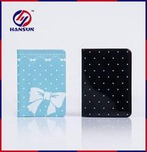 HS793 Promotional colorful passport holder for travel plastic beautiful passport holder
