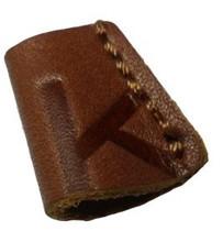 promotional design fake leather badge