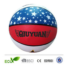 PU TPU PVC rubber basketball whole sale blank basketball