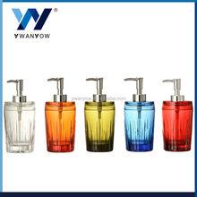 Crystal design acrylic bathroom accessory set