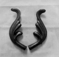 Wrought Iron Accessories,Casting Leaves And Flowers Wrought Iron Steel Ornaments For Gate /Fence /Balusters