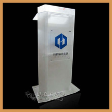 GH-R083 fashional design acrylic church podium/beautiful acrylic church pulpit