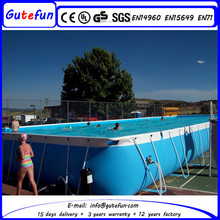new product inflatable adult swim canvas swimming pool