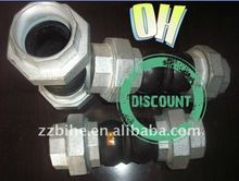 highly flexible thread pipe joint