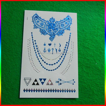 tattoo sticker and flash custom glitter temporary tattoo supply