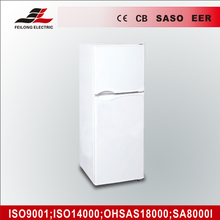 BCD-112 double doors white hot sale fashionable refrigerator in 112L