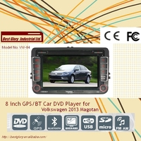 8 inch GPS/BT Car DVD Player for Volkswagen 2013 Magotan