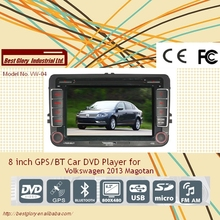 8 inch GPS/BT Car DVD Player for Volkswagen 2013 Magotan