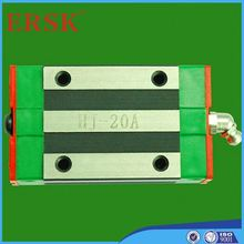 Guia linear preço ISO9001 alumínio trilho deslizante trilho de alumínio para a porta de slides HGW 65CB