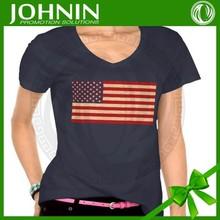Best quality 2014 fashion love china made couple design High Quality bulk blank customamerica flag pattern shirt