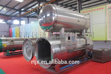 Steam Autoclave Sterilizer For Sweet Corn Pouch