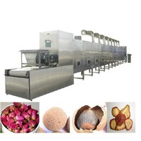 High effect Continous Tunnel-type Microwave Drying Machine For stevia