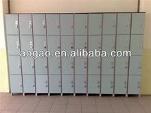 solid phenolic 4 compartment locker