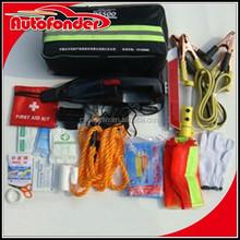 Multi-function emergency roadside kit/car emergency kit/emergency kit