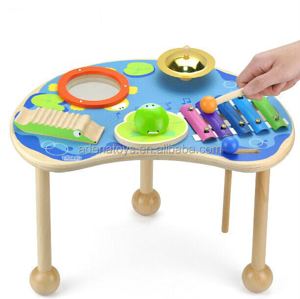 Preschool Table Toys : Wholesale happy musical instrument table educational