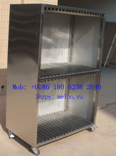 Stainless Steel 304 SMT Stencil Trolley,SMT Stencil Cabinet