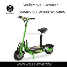 EUROPEAN market hot sale Disc brake scooter, two wheel stand up electric scooter, escooter 1500w