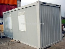 Low cost modular prefab flatpack container house