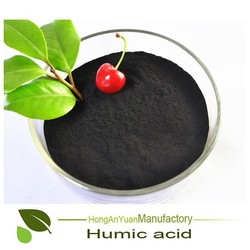 leonardite/lignite extracted 50% humic acid powder for agriculture use manufacturer