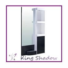 Duplo espelho lateral estação / moderno equipamento do salão de cabelo equipamentos salão de beleza / cabelo usado