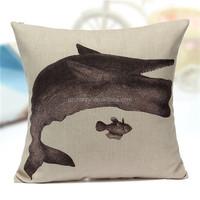 45x45cm Ocean Marine Fish Beach Shells Cushion Cover Throw Pillowcase For Home/Sofa/Bed/Cars Decorative Pillow Case