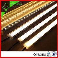 72Leds/M 1M/pc White & warm white Color Selective Waterproof Aluminum Alloy, PC milk cover,Rigid Led Strip 5050SMD