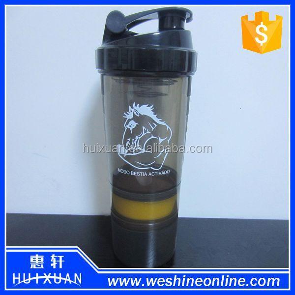 Protein Shaker Logo: 600ml Protein Shaker Joyshaker Bottles Custom Logo Clear