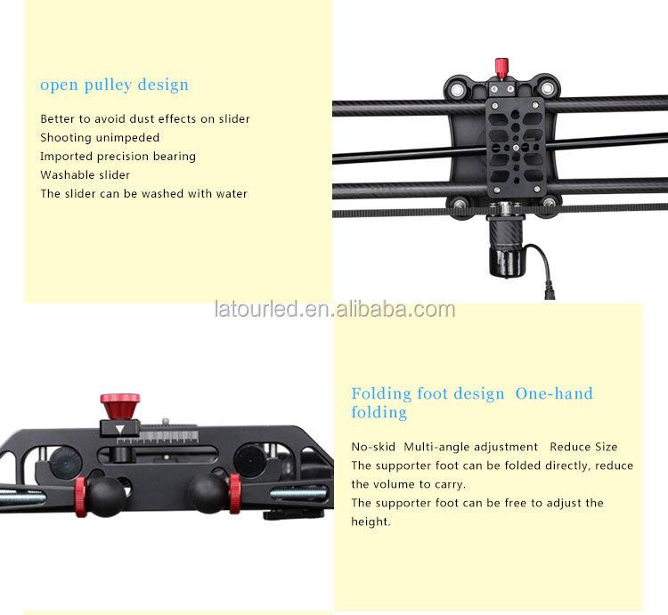 Huizhou 120cm Dslr Camera Dolly With Precision Rotation