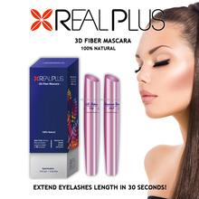 Real plus first class original manufacturer best quality excellent 3D fiber lash mascara