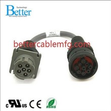OEM Auto Diagnostic Cables 9pin to 6pin Commins Cable