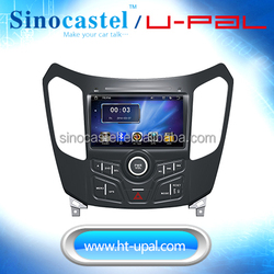 """OE Fit GPS Car Navigation 800x480 for Haima S7 2013 with DVD pick up and 8""""digital LCD, mirror link"""
