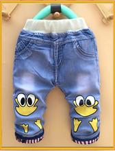 2015 cheap kids jeans new style boys pants jeans