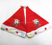 Festival Ornaments Ordinary Santa hats Children cap for party christmas hats