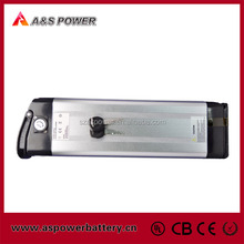 rechargeable 24V 10Ah ebike battery pack with charger and BMS