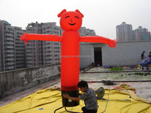 inflatable advertising red pig air dancer