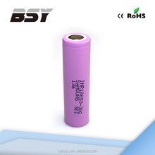 NEW landed! INR 18650 30Q 3000mah 3.7v lithium li ion alkaline polymer battery for e cigarette high quality battery inr18650 30Q