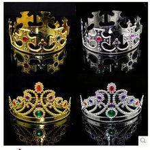 Hot Sale Fashion Cheap Custom Kking Crown For Hair Accessories