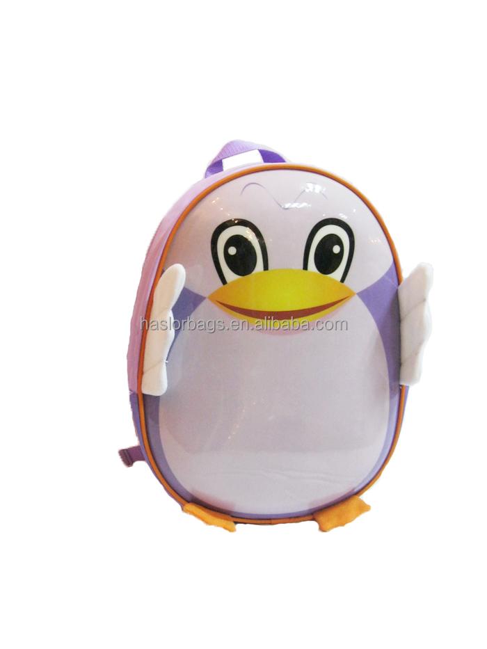 2014 nouveau Design Trendy mignon 3D animaux sac à dos pour enfants