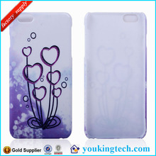 Decal Skin Water Printing Hard Case for apple iPhone6+